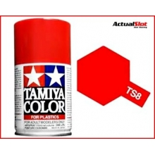 PINTURA TAMIYA SPRAY TS-8 ITALIAN RED