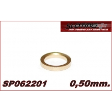 SPACER 0.50 mm MINI BRONZE for axle 2.38 mm (3/32)