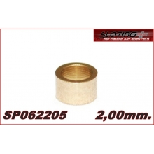 SPACER 2 mm MINI BRONZE for axle 2.38 mm (3/32)