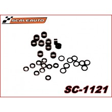 "AXLE SPACERS FOR 3/32"" PLASTIC"