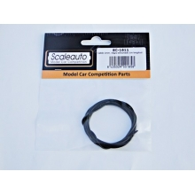 CABLE 1mm. NEGRO SILICONADO