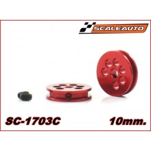 ALLUMINIUM PULLEY 10mm.