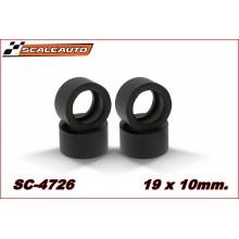 SC-4726 Neumáticos goma RT Soft 19x10mm.