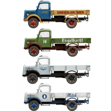 KIT 1/35 GERMAN CARGO TRUCK L1500S