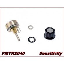 VARIABLE SENSITIVITY POTENTIOMETER