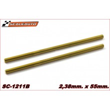 3 X 70mm. RECTIFIED STEEL AXLE