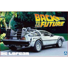 DE LOREAN (BACK TO THE FUTURE) (1/24)