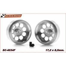 ALUMINIUM WHEELS 17,2 x 8,5mm LIGHTWEIGHT