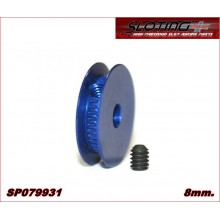 ALUMINIUM PULLEY 8mm.