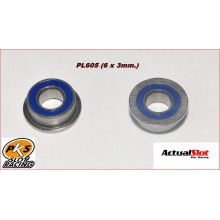 BALL BEARING 6x3mm. WITH TAB