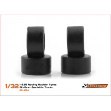 RUBBER TYRES I-S25 22 x 12mm.