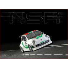 ABARTH 500 ASSETTO CORSE - ALITALIA  WHITE