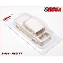 NSU TT WHITE BODY KIT + WHEEL INSERTS