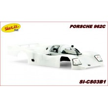 WHITE BODY KIT PORSCHE 962C