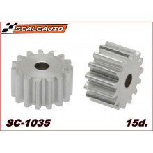 ALUMINIUM PINION 15 TEETH