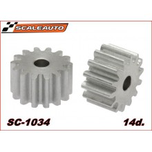 ALUMINIUM PINION 14 TEETH