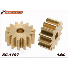 BRASS PINION 14 TEETH