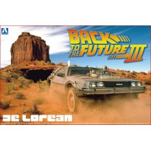 DE LOREAN (BACK TO THE FUTURE III) (1/24)