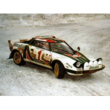 CALQUES 1/24 LANCIA STRATOS (RALLY MONTECARLO 1977)