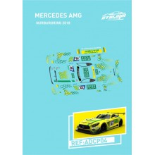 DECALS 1/32 MERCEDES AMG GT3 - NURBURGRING 2018