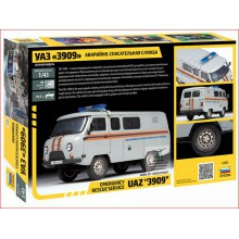 "KIT 1/43 UAZ ""3909"" - EMERGENCY RESCUE SERVICE"