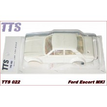 FORD ESCORT MKI WHITE BODY KIT + WHEEL INSERTS