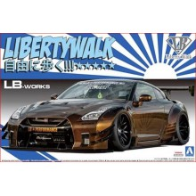 KIT LB WORKS NISSAN R-35 GT-R TYPE 2 VERSION (1/24).