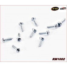 SCREWS SPECIAL FOR PLASTIC M1,8x6mm.