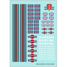 "GENERIC DECALS ""MARTINI"""