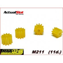 11 TOOTH NYLON PINION