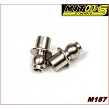 METALL UNIBALL W/SPACER
