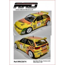 CALQUES 1/32 SEAT IBIZA KITCAR (RALLY OSONA 1997)