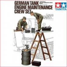 GERMAN TANK ENGINE MAINTENANCE CREW SET