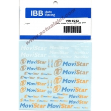 DECALS VIRAGES MOVISTAR 1/32 - 1/24