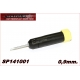 TORQUE SCREWDRIVER 0,9mm. TIP