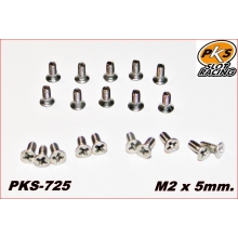 CARGOLS INOX PHILLIPS M2 x 5.