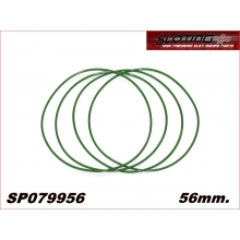 56mm. RUBBER TRANSMISSION BELT