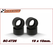 Neumáticos goma RT Soft 19x10mm.