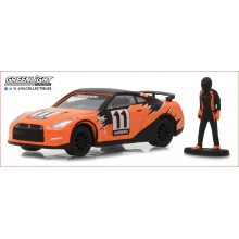 2011 NISSAN GT-R WITH RACE CAR DRIVER
