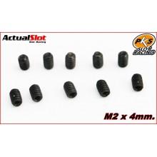 10 ESPÀRRECS ALLEN M2 x 6mm.