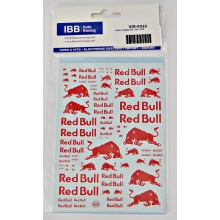 DECALS VIRAGES REDBULL