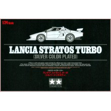 KIT 1/24 LANCIA STRATOS TURBO (SILVER COLOR PLATED)