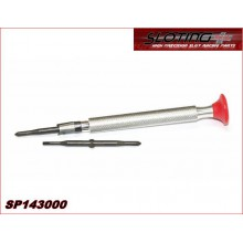 DOUBLE SCREWDRIVER (PHILLIPS - FLAT)