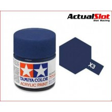 X3 PINTURA TAMIYA AZUL ROYAL 10ml.