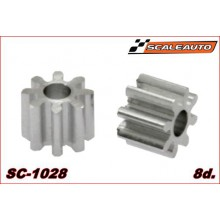 ALUMINIUM PINION 8 TEETH