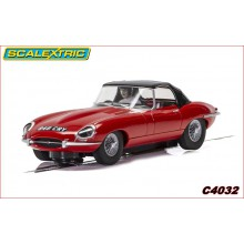 JAGUAR E-TYPE  - RED 848CRY