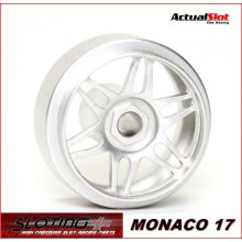 ALUMINIUM WHEELS MONACO (16,9 x 9mm.)