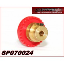 INLINE CROWN GEAR 24 TEETH BRASS