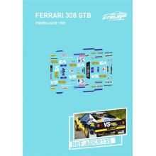 DECALS 1/24 FERRARI 308 GTB
