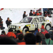 DECALS 1/24 PEUGEOT 205 T16 EVO1 (RALLY MONTE CARLO 1986)